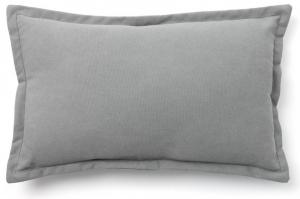 Чехол на подушку Lisette 30X50 CM серого цвета