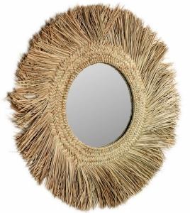 Круглое зеркало в этно стиле Rumer Ø72 CM