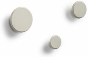Набор настенных вешалок Nadua Ø13 / Ø10 / Ø8 CM бежевого цвета
