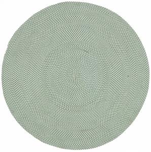 Ковёр из волокон полиэфира Rodhe Ø150 CM зелённый