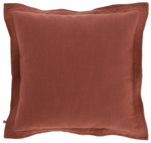 Чехол для подушки Maelina 45X45 CM пыльно бордового цвета