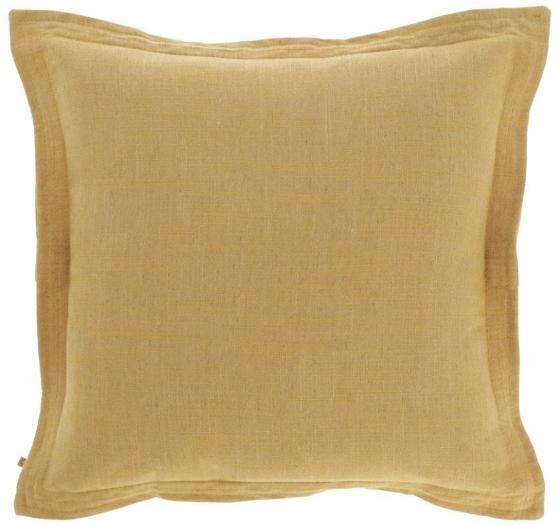 Чехол для подушки Maelina 45X45 CM горчичного цвета 1