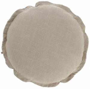 Чехол для подушки Maelina Ø45 CM пыльно бежевого цвета