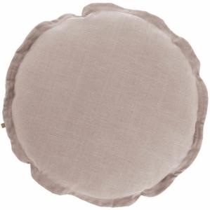 Чехол для подушки Maelina Ø45 CM пыльно розового цвета