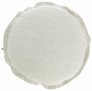 Чехол для подушки Maelina Ø45 CM белого цвета
