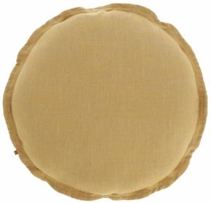 Чехол для подушки Maelina Ø45 CM горчичного цвета