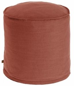 Пуф Maelina 42X42X50 CM пыльно-бордового цвета