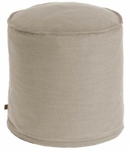 Пуф Maelina 42X42X50 CM пыльно-бежевого цвета