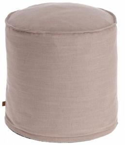 Пуф Maelina 42X42X50 CM пыльно-розового цвета