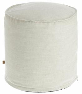 Пуф Maelina 42X42X50 CM белого цвета