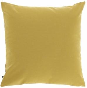 Чехол для подушки Nedra 45X45 CM горчично-жёлтого цвета