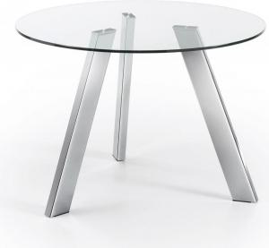 Круглый кухонный стол Carib Ø110 CM хромированные ножки
