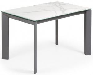 Раздвижной стол с керамической столешницей Axis 120-180X80X76 CM