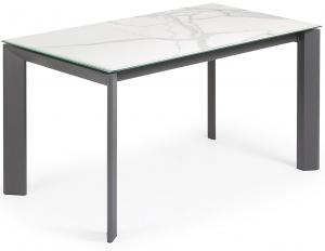 Раздвижной стол с керамической столешницей Axis 140-200X80X76 CM