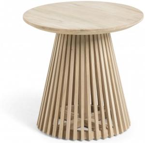 Кофейный столик из тикового дерева Jeanette 50X50X45 CM