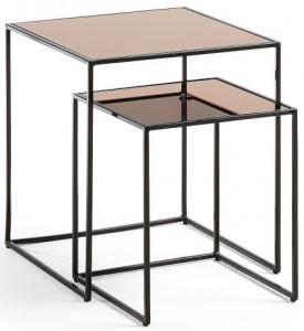 Вспомогательные столики Sute 45X45X50 / 35X35X40 CM