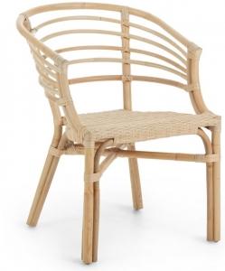 Уютный плетённый стул Dewi 55X62X76 CM