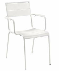 Стальной стул Advance 59X65X84 CM белого цвета