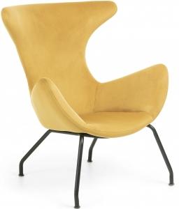 Кресло Vanda 95X77X75 CM горчичное