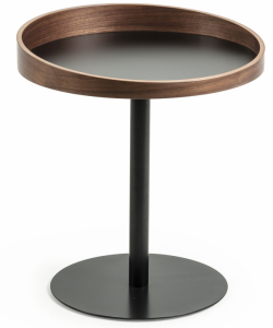 Приставной столик с бортиком Karlin 46X46X52 CM