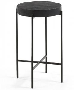 Вспомогательный столик из тика Existence 32X32X50 CM