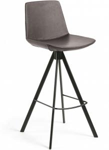 Барный стул Zelda 45X49X104 CM тёмно-коричневый