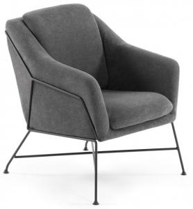 Элегантное кресло Brida 65X73X82 CM серое