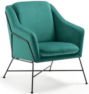 Элегантное кресло Brida 65X73X82 CM зелёное