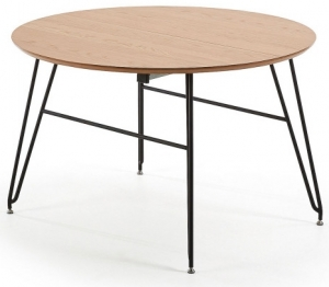Раскладной обеденный стол Novac 120-200X120X75 CM