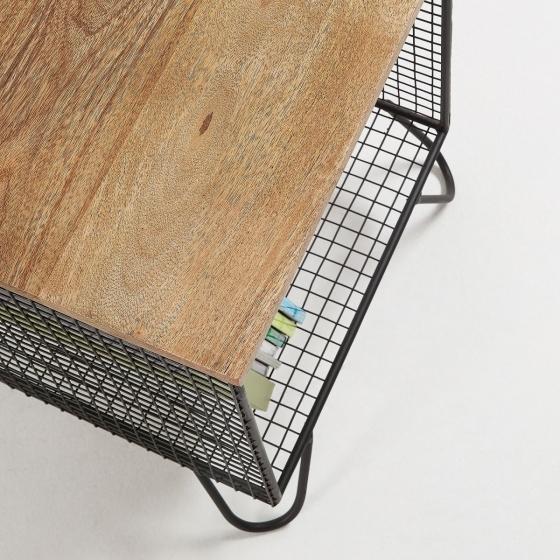 Прикроватный столик в стиле лофт Interni 38X38X48 CM 3
