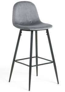 Барный стул Nilson 48X47X101 CM серый