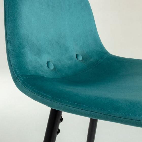 Барный стул Nilson 48X47X101 CM бирюзовый 5