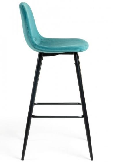 Барный стул Nilson 48X47X101 CM бирюзовый 3