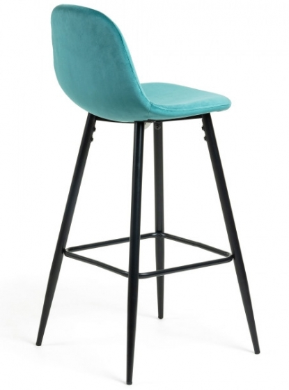 Барный стул Nilson 48X47X101 CM бирюзовый 2