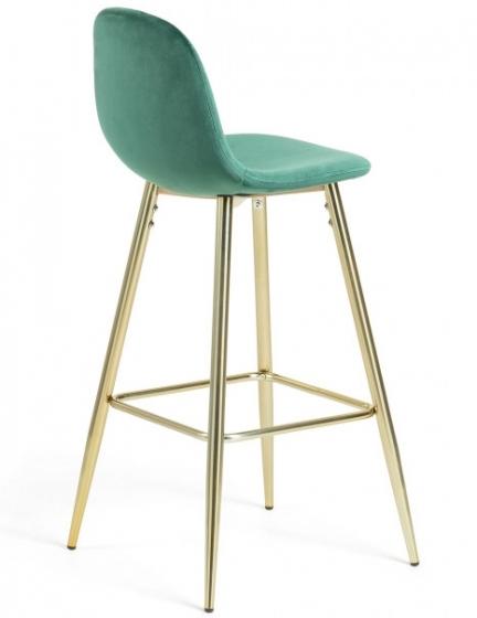 Барный стул Nilson 48X47X101 CM зелёный 3