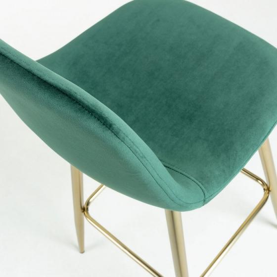 Барный стул Nilson 48X47X101 CM зелёный 4