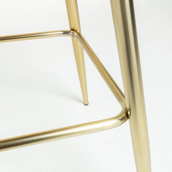 Барный стул Nilson 48X47X101 CM зелёный 6