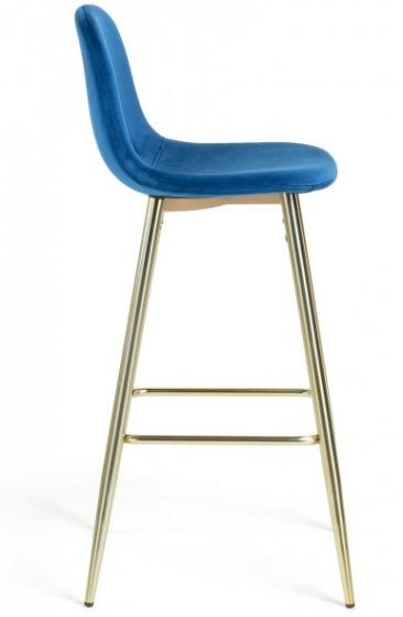 Барный стул Nilson 48X47X101 CM синий 2