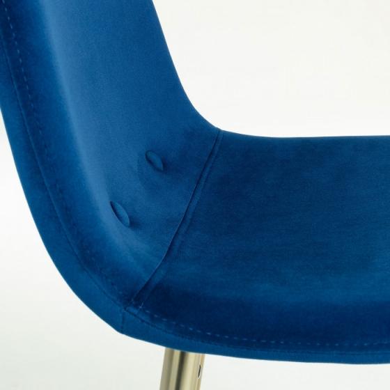 Барный стул Nilson 48X47X101 CM синий 5