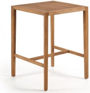Барный стол из массива эвкалипта Cybille 80X80X106 CM