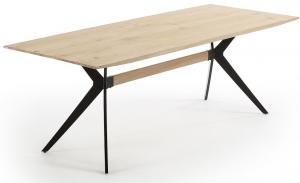Дубовый обеденный стол Amethyst 160X90X76 CM