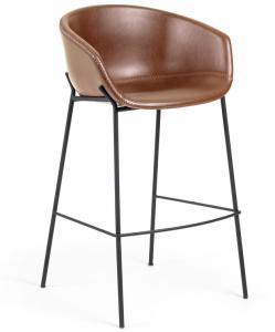 Барный стул Yvette 60X54X99 CM коричневый