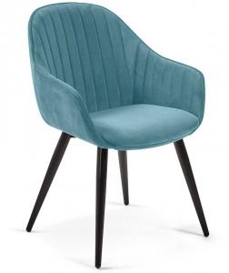 Элегантный стул Herbert 58X62X84 CM бирюзовый