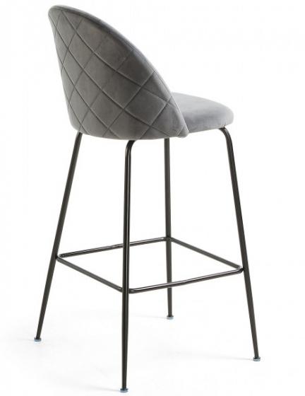 Барный стул Mystere 55X50X108 CM серый 3