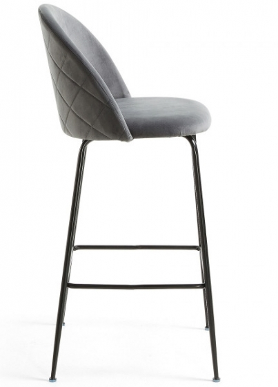 Барный стул Mystere 55X50X108 CM серый 2