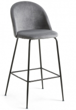 Барный стул Mystere 55X50X108 CM серый