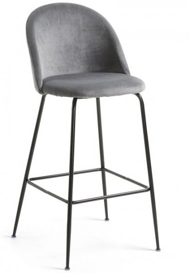 Барный стул Mystere 55X50X108 CM серый 1