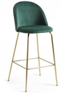 Барный стул Mystere 55X50X108 CM тёмно зелёный
