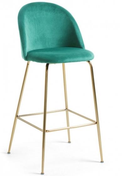 Барный стул Mystere 55X50X108 CM зелёный 1