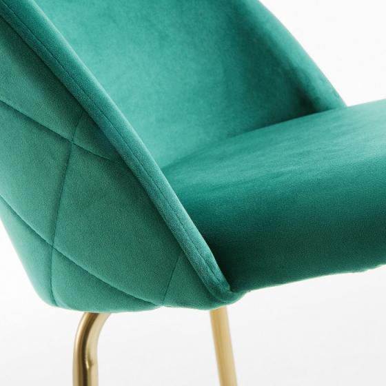 Барный стул Mystere 55X50X108 CM зелёный 5